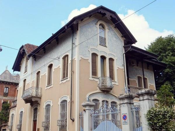 Turin Italie art nouveau Liberty corso francia
