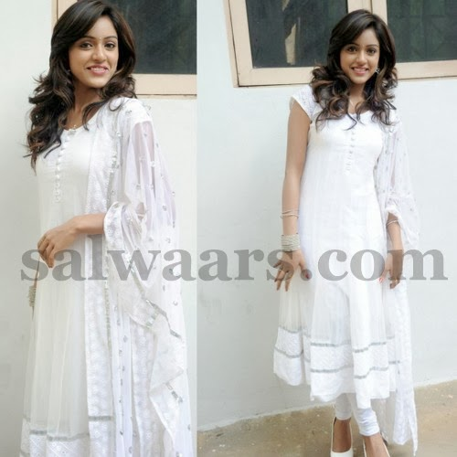Vitika Sheru White Salwar
