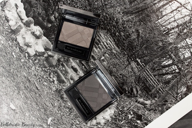 Burberry No. 27 Storm Grey and No. 28 Graphite Sheer Eyeshadow Eye Enhancer, Summer 2014 in studio lighting