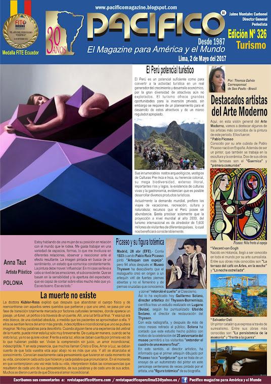 Revista Pacífico Nº 326 Turismo