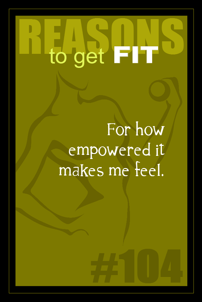 365 Reasons to Get Fit #104