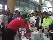 Tongkat Ali Nu-Prep 100(paten US,EU) diserbu sebelum Seminar kesihatan Felda 2011
