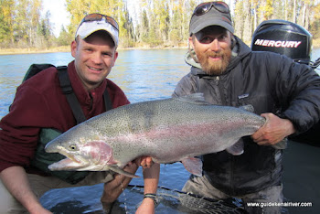Kenai River Trophy Rainbow Trout Fishing