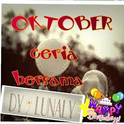 Oktober Ceria bersama Dy Lunaly