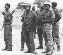 Samora Machel, presidente de Mozambique Frelimo+d