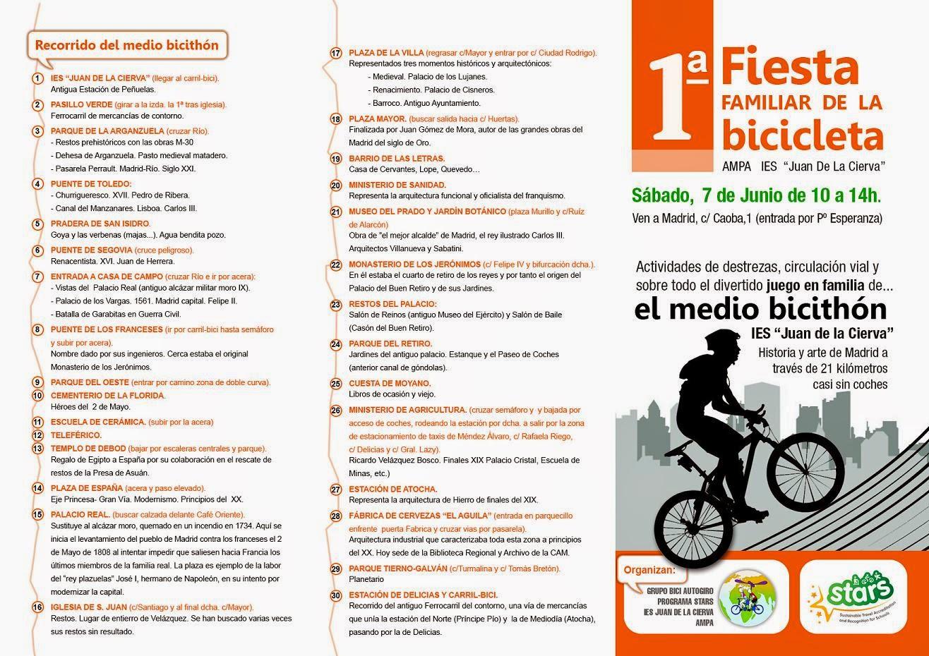 Primer Medio Bicithón de Madrid