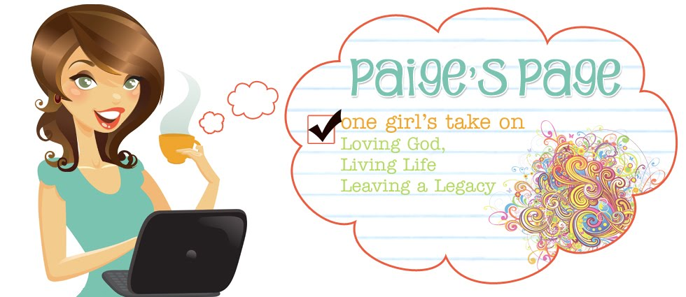 Paige&#39;s Page