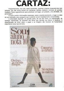 genero textual - cartaz de canapanha