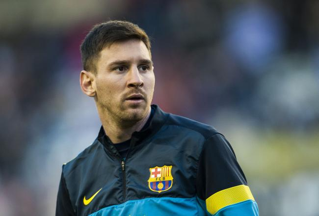 Lionel Messi Hairstyle 2014
