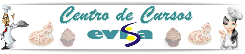 Centro de Cursos Evisa - Osório - RS - Curso de Confeitaria - Culinaria...