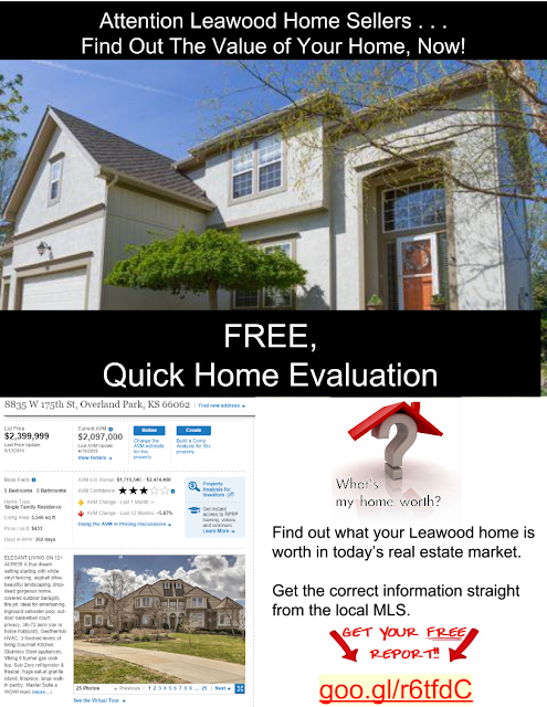 Find out the value of your home in Leawood Kansas