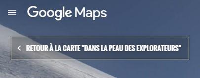 carte du massif su Mont-Blanc  Dans la peau des explorateur