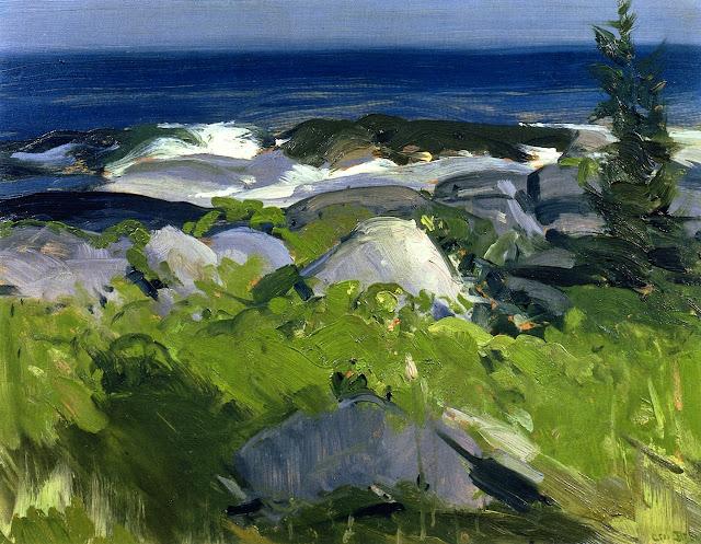 1913 Vine Clad Shore - Monhegan Island