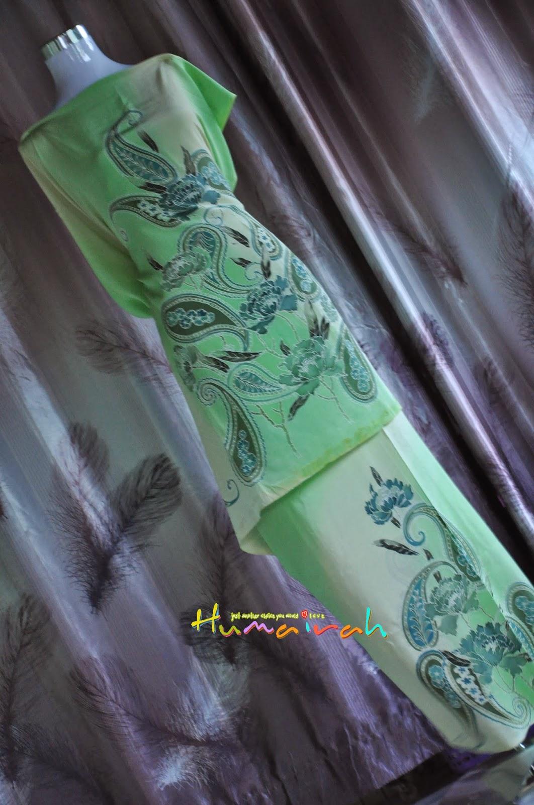 Green Paisly Exclusive Handmade Terengganu 2