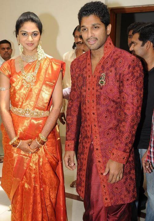 Allu Arjun With His Wife Sneha | Film News