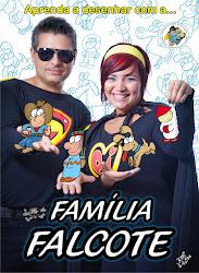 DVD Aprenda a desenhar com a Família Falcote
