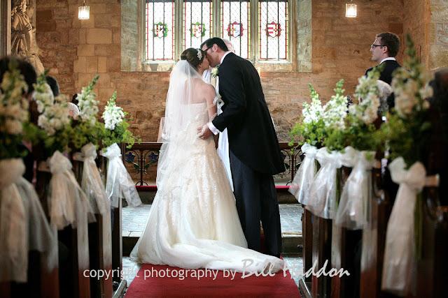 Leicester wedding photographer Brooksby Hall Church wedding