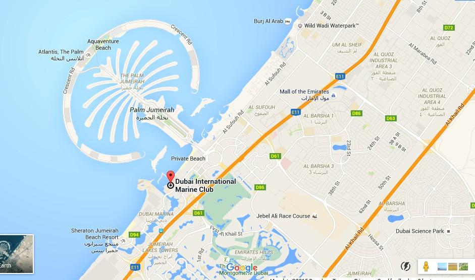 ABSea Tours JLT Dubai Map Dubai Tourists Destinations and – Dubai Tourist Attractions Map