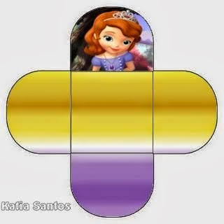 You can use this box for chocolates, candies or cupcakes of Sofia the First