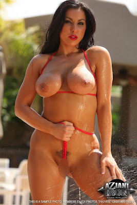 Brianna Jordan_red thong_4