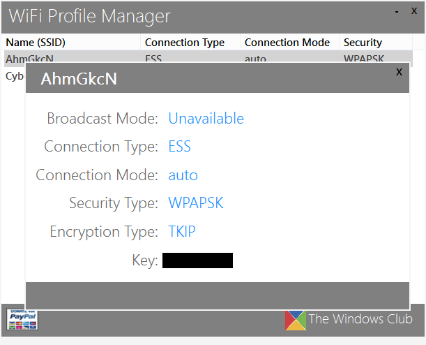 Wifi Profil Manager