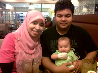 Baby Qaiser ilman 1st time outing at KLCC Nov 2012.