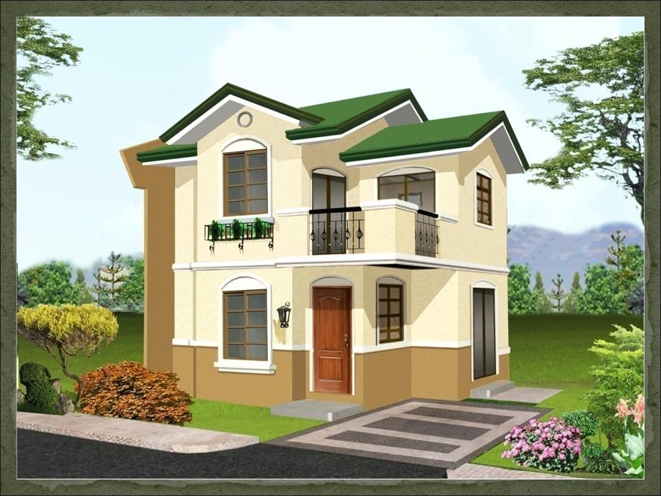 simple house design with second floor home design ideas - Simple House Design With Second Floor