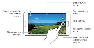 Taking photos or recording videos