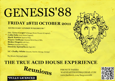 The history of acid house september 2011 for Acid house history