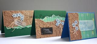 Flower bouquet birthday cards