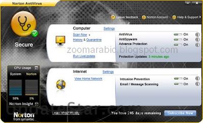 برنامج مكافحة الفيروسات نورتون انتى فيروس 2014 Norton AntiVirus