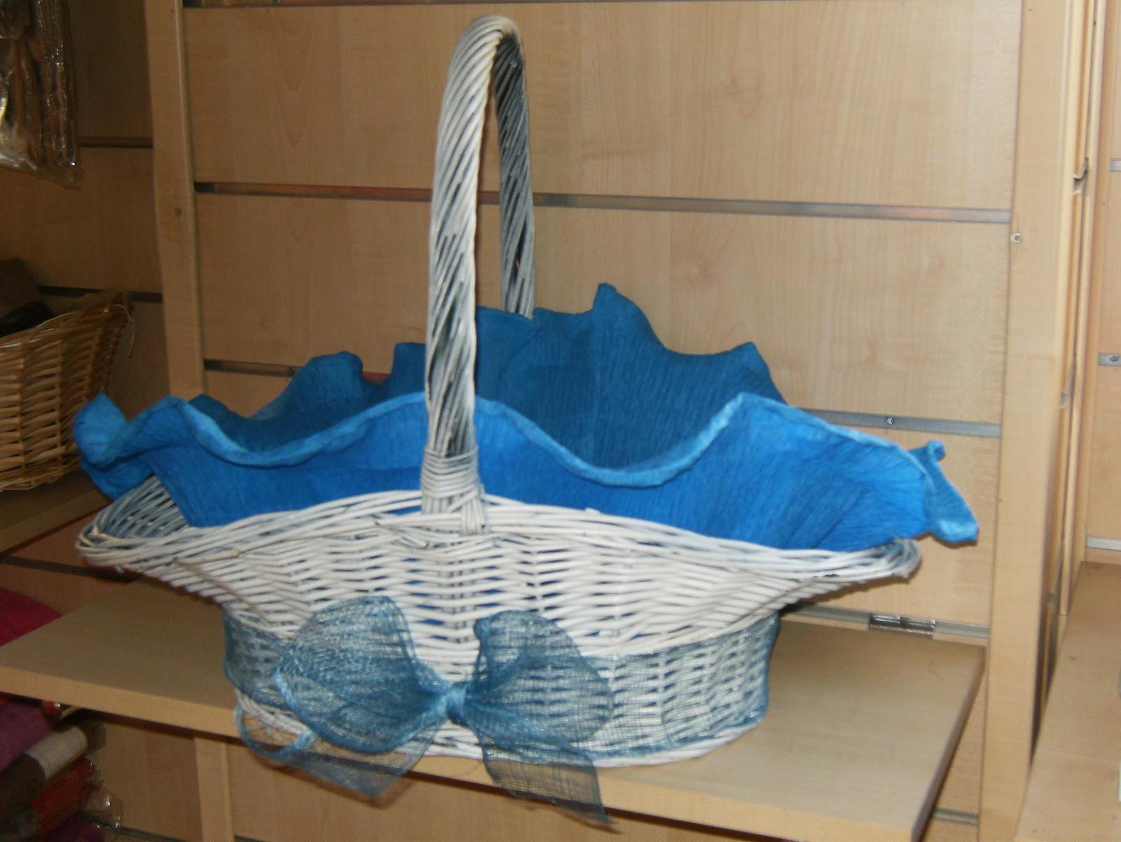 Decoraci n de cestas imagui - Decoracion de cestas ...