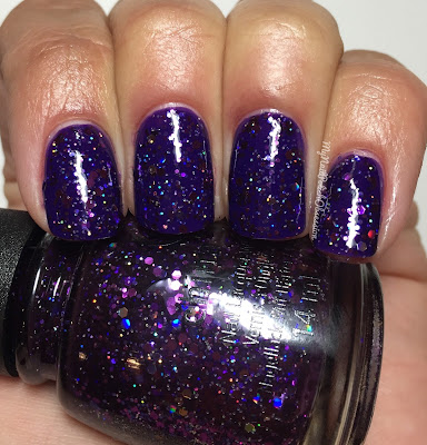 China Glaze Wishes; Brand Sparkin' New Year