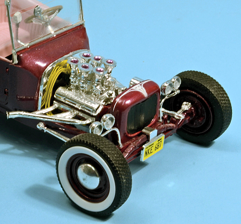 1 25 Scale Tweedy Pie Ford Model T Classic Rod From