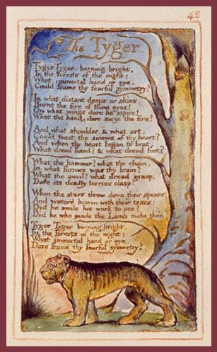 Tyger william blake essays