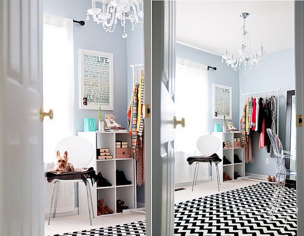 Mg 39 s simple style diy fashionista dressing room - Decoratie dressing ...