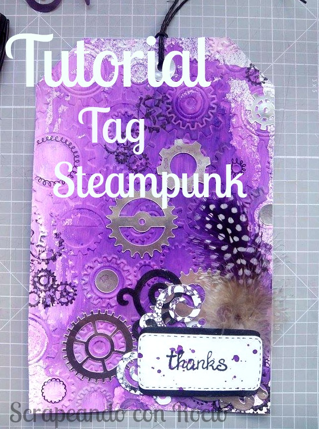 Tutorial tag mixed media