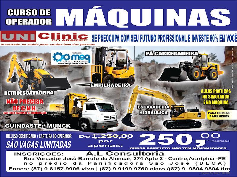 CURSO MÁQUINAS
