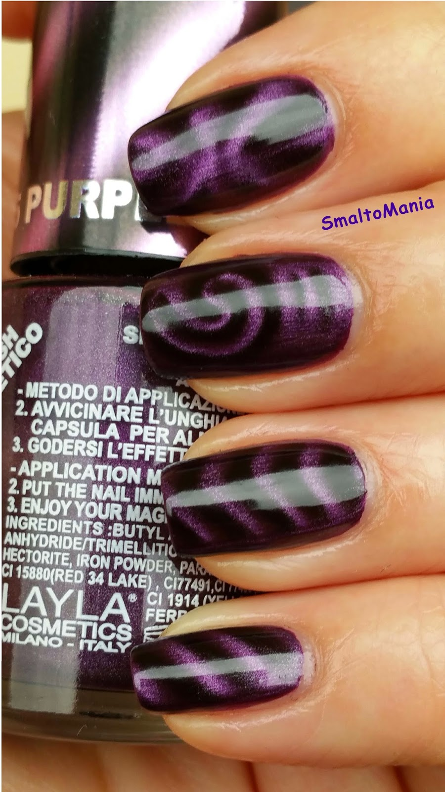 Layla Magneffect n.05 Purple Galaxy