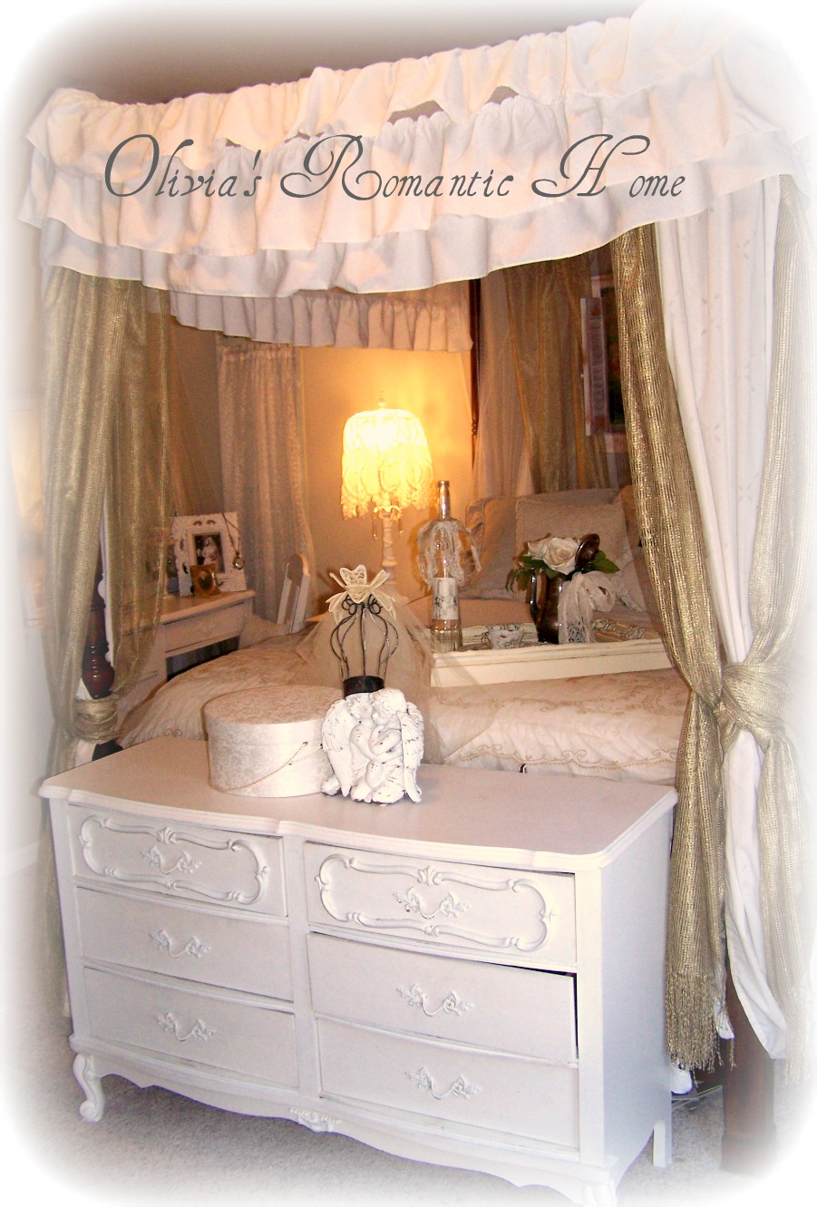 Olivia 39 S Romantic Home Shabby Chic Bedroom Boudoir Update