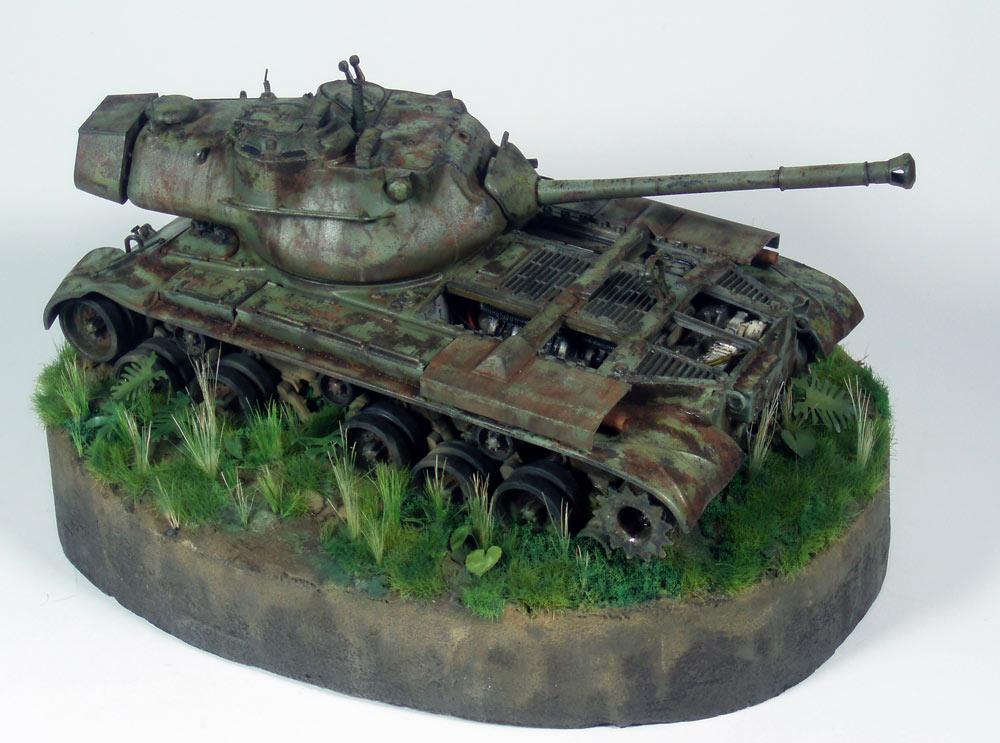 Armorama M47 Patton Retired General 135 Italeri
