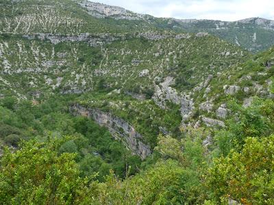 ナヴァセル渓谷 Cirque de Navacelles サン・ギエムの道
