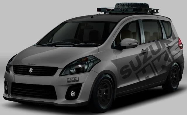 Suzuki ertiga grey touring edition