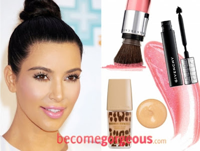 Best-Kim-Kardashian-Makeup-Looks-for-Summer-2012