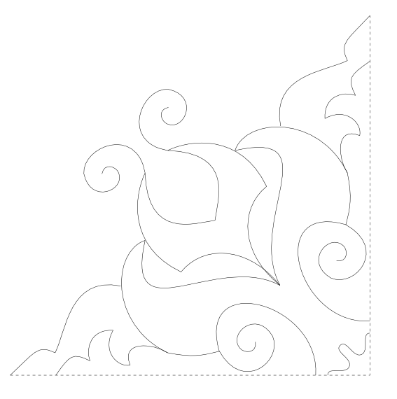 free hand embroidery and quilting pattern