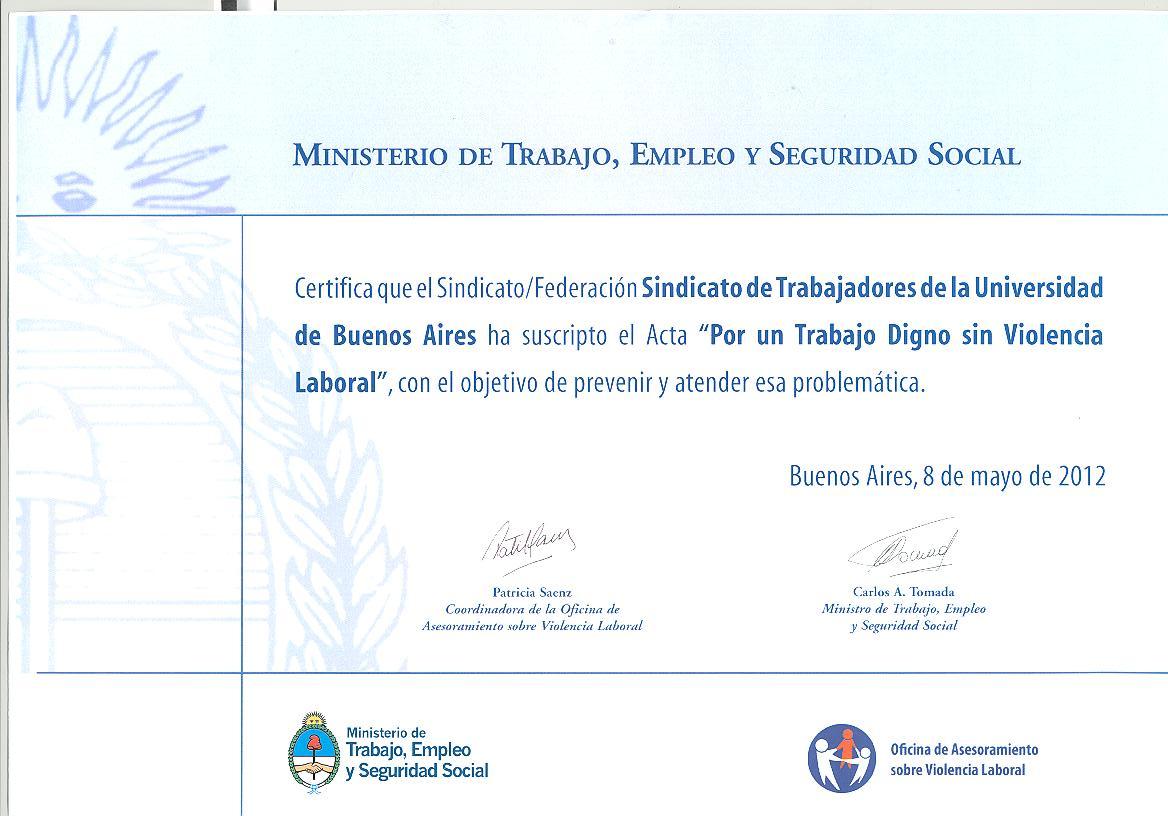 Blog del Sindicato de Trabajadores de la Universidad de Buenos Aires ...
