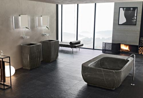 foto gambar desain kamar mandi minimalis sederhana cara