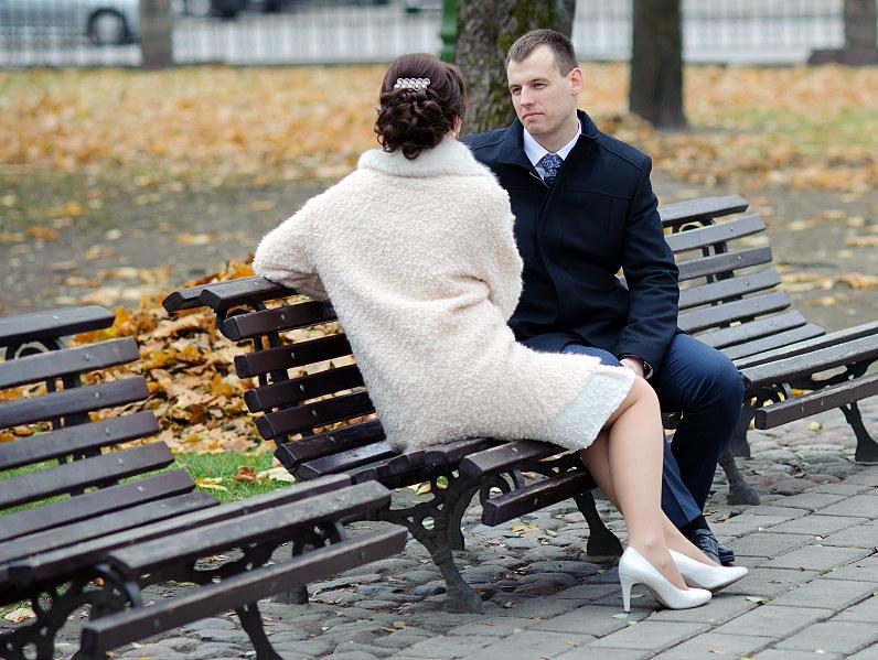 rudeninė nuotakos apranga