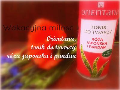 Orientana, tonik do twarzy róża japońska i pandan