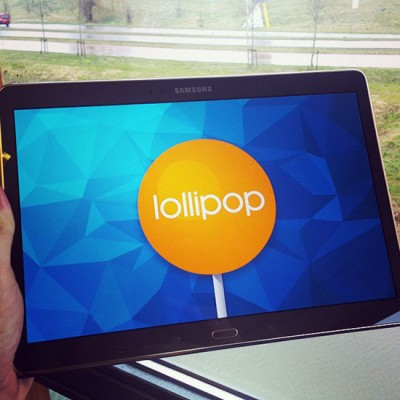 April, Mungkin Samsung Galaxy Tab S 10.5 Terima Lollipop